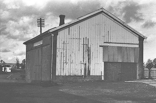 1978 - Williton Goods Shed. ©Nick Jones