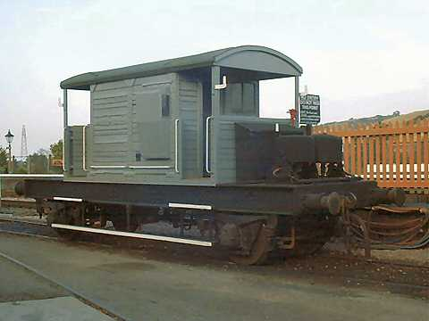 2003 - Brake van at Williton on 18 October. This work is licenced under a Creative Commons Licence. © Jon Tooke