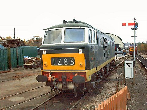 2003 - D7018 at Williton on 8 November. This work is licenced under a Creative Commons Licence. © Jon Tooke