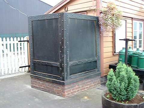 2003 - Filmset prop at Williton on 2 October. This work is licenced under a Creative Commons Licence. © Alan Grieve