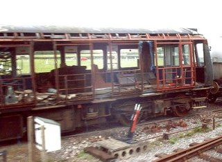 2003 - Stripped DMU - Williton on 5 May. This work is licenced under a Creative Commons Licence. © Jon Tooke