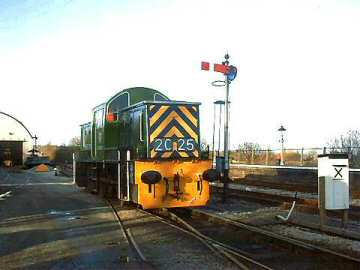 2004 - Class 14 D9526 active in the South Yard at Williton on 25 January. This work is licenced under a Creative Commons Licence. © Jon Tooke