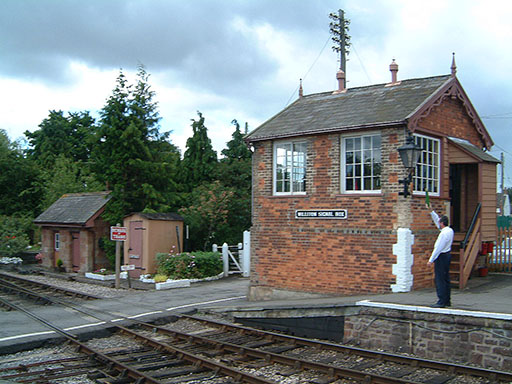 2004 - Wiliton Station Signal Box on 16 September. © Mike Dan