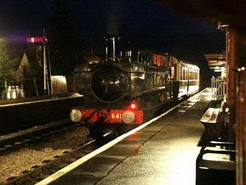 2005 - GWR 0-6-0PT No. 6412 with the Autocoach at Williton on 30 December. No 6412 with the Auto at Williton on 30 December 2005. © Peter Darke