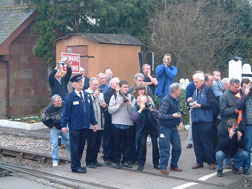 2005 - Photographers at the Spring Gala at Williton on 19 March. © Mike Dan