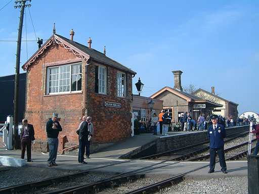 2005 - Williton Station on 20 March. © Mike Dan