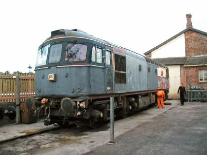 2006 - Crompton No. 33057 at Williton on 23 September. This work is licenced under a Creative Commons Licence. © Jon Tooke