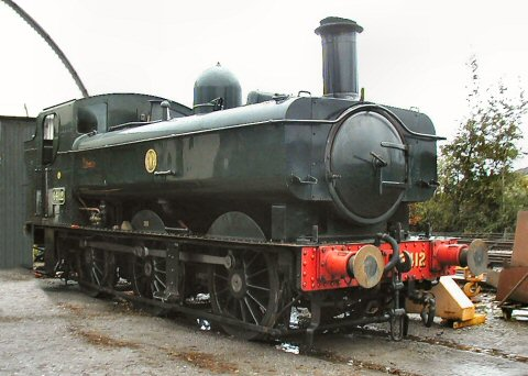 2006 - GWR 0-6-0PT No. 6412 seen at Williton on 25 November. This work is licenced under a Creative Commons Licence. © Jon Tooke