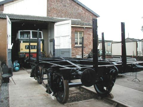 2006 - Wagon restoration at Williton on 12 August. This work is licenced under a Creative Commons Licence. © Jon Tooke