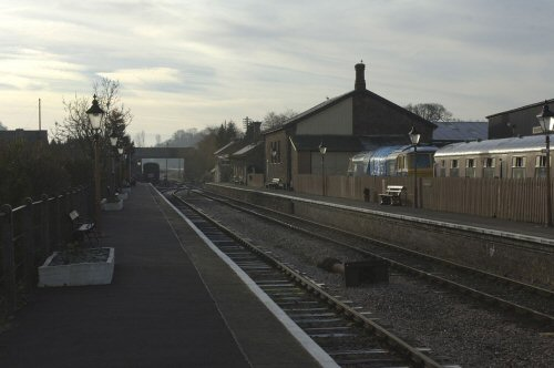 2007 - An early morning view of Williton Station on 4 February. This work is licenced under a Creative Commons Licence. © Mark the Photographer