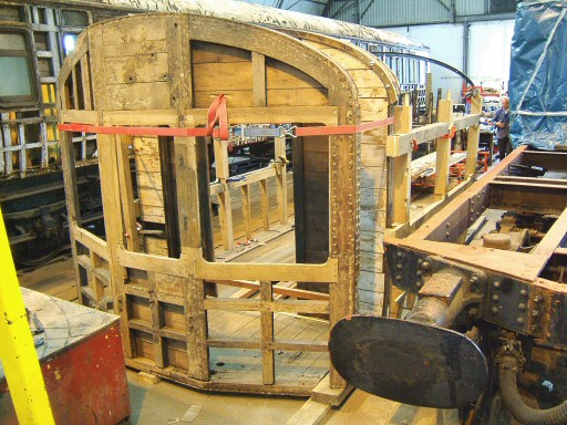 2007 - Auto Trailer No. 169 beginning to take shape and form at Williton on 16 June. This work is licenced under a Creative Commons Licence. © Ian Grady