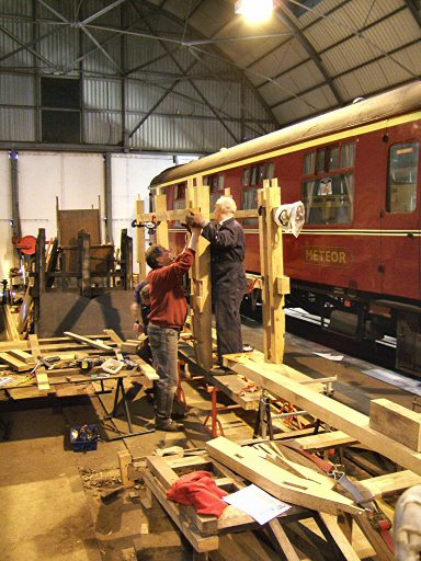 2007 - Autocoach No. 169 working party in progress at Williton on 17 February. This work is licenced under a Creative Commons Licence. © Ian Grady