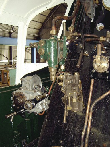 2007 - Cab detail of SR 4-6-2 No. 34046 Braunton on 14 July. This work is licenced under a Creative Commons Licence. © Ian Grady