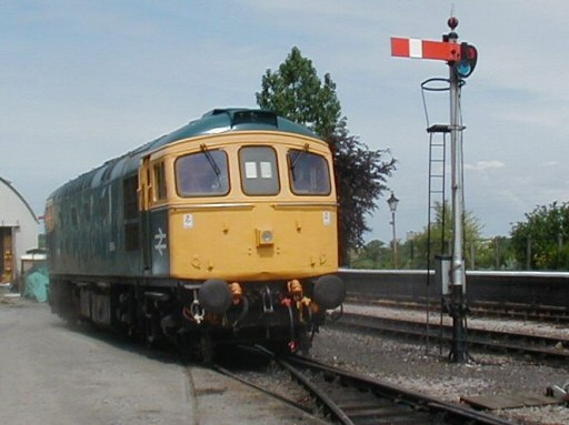 2007 - Crompton Class 33 No.33048 (D6566) at Williton on 20 May. This work is licenced under a Creative Commons Licence. © Jon Tooke