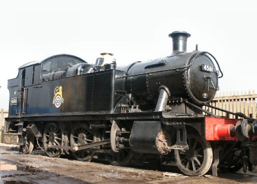 2007 - GWR 2-6-2T No. 4561 at Williton on 23 February. This work is licenced under a Creative Commons Licence. © Peter Darke