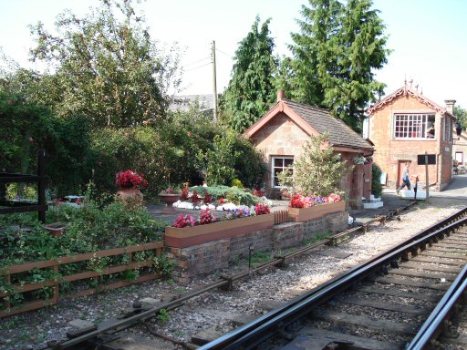 2007 - The south end of Williton Station on 9 September. This work is licenced under a Creative Commons Licence. © Clive Townshend
