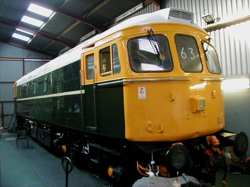 2008 - The new livery of Crompton No. D6566 at Williton on 7 June. This work is licenced under a Creative Commons Licence. © Jon Tooke