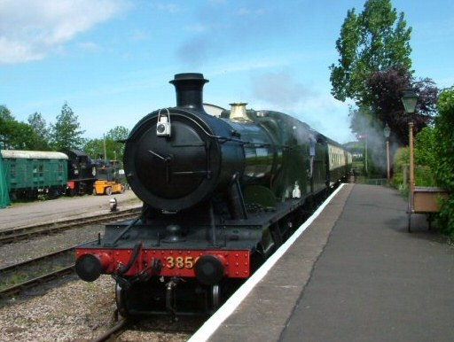 2010 - GWR 2-8-0 No. 3850 at Williton on 28 May. This work is licenced under a Creative Commons Licence. © Lee Robbins