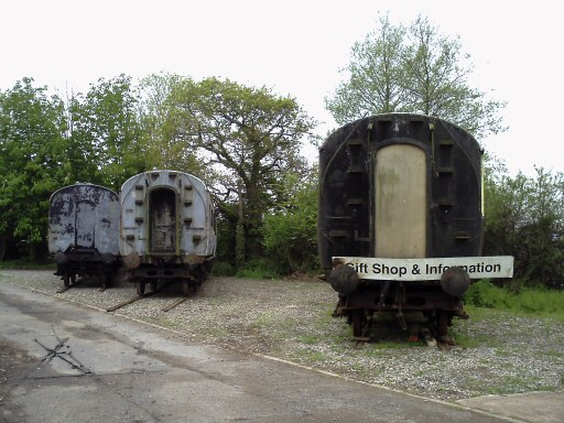 2010 - GWR Toplight No. 3631, GWR Collett No. 5929 and GWR TK No. 5856 at Williton on 9 May. This work is licenced under a Creative Commons Licence. © David Holmes