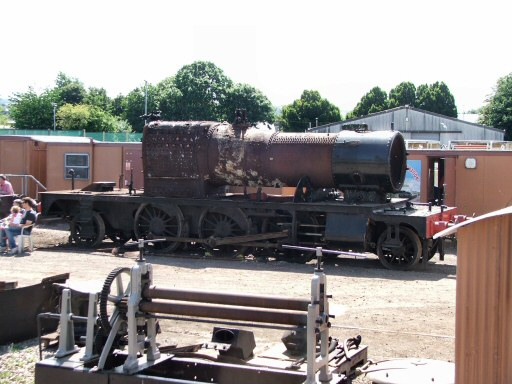 2010 - Stripped ready for a boiler lift, GWR 2-6-2T no 4561 stands at Williton on 28 July. This work is licenced under a Creative Commons Licence. © Fotophile69