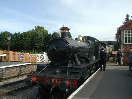 2010 - WSR 2-6-0 No. 9351 at Williton on 17 May. This work is licenced under a Creative Commons Licence. © Chris Osment