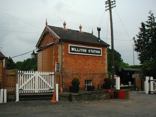 2010 - Williton Signal Box as seen on 18 June. This work is licenced under a Creative Commons Licence. © Chris Osment