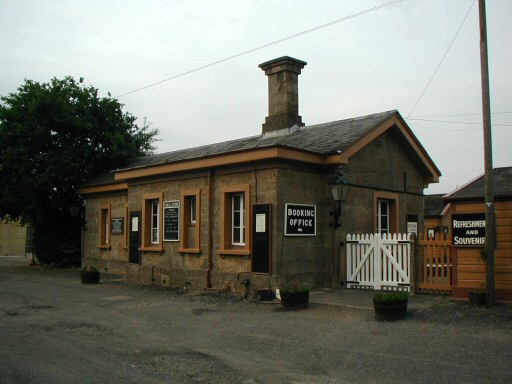 2010 - Williton Station Building and forecourt as seen on 18 June. This work is licenced under a Creative Commons Licence. © Chris Osment