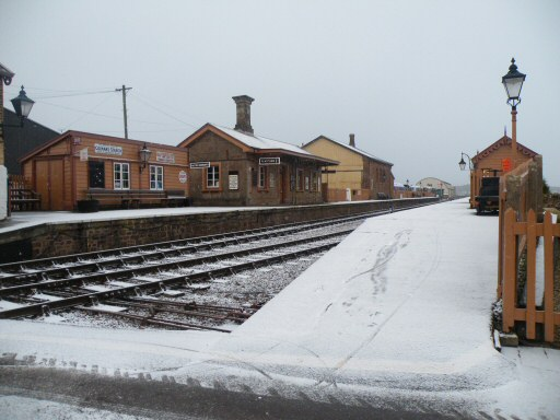 2010 - Williton Station under a blanket of snow on 17 December. This work is licenced under a Creative Commons Licence. © Thomas Gulliford