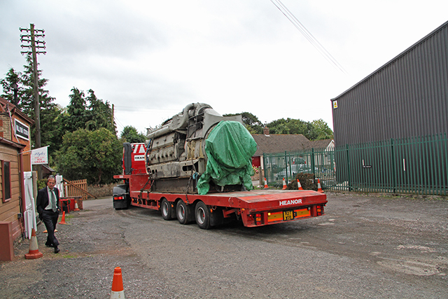 2011 - Class 47 Diesel engine on its way from Williton to Eastleigh. This work is licenced under a Creative Commons Licence. ©Martin Hope