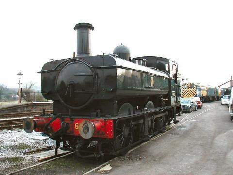 2006 - GWR 0-6-0 PT No. 6412 at Williton on 7 January. This work is licenced under a Creative Commons Licence. © Jon Tooke