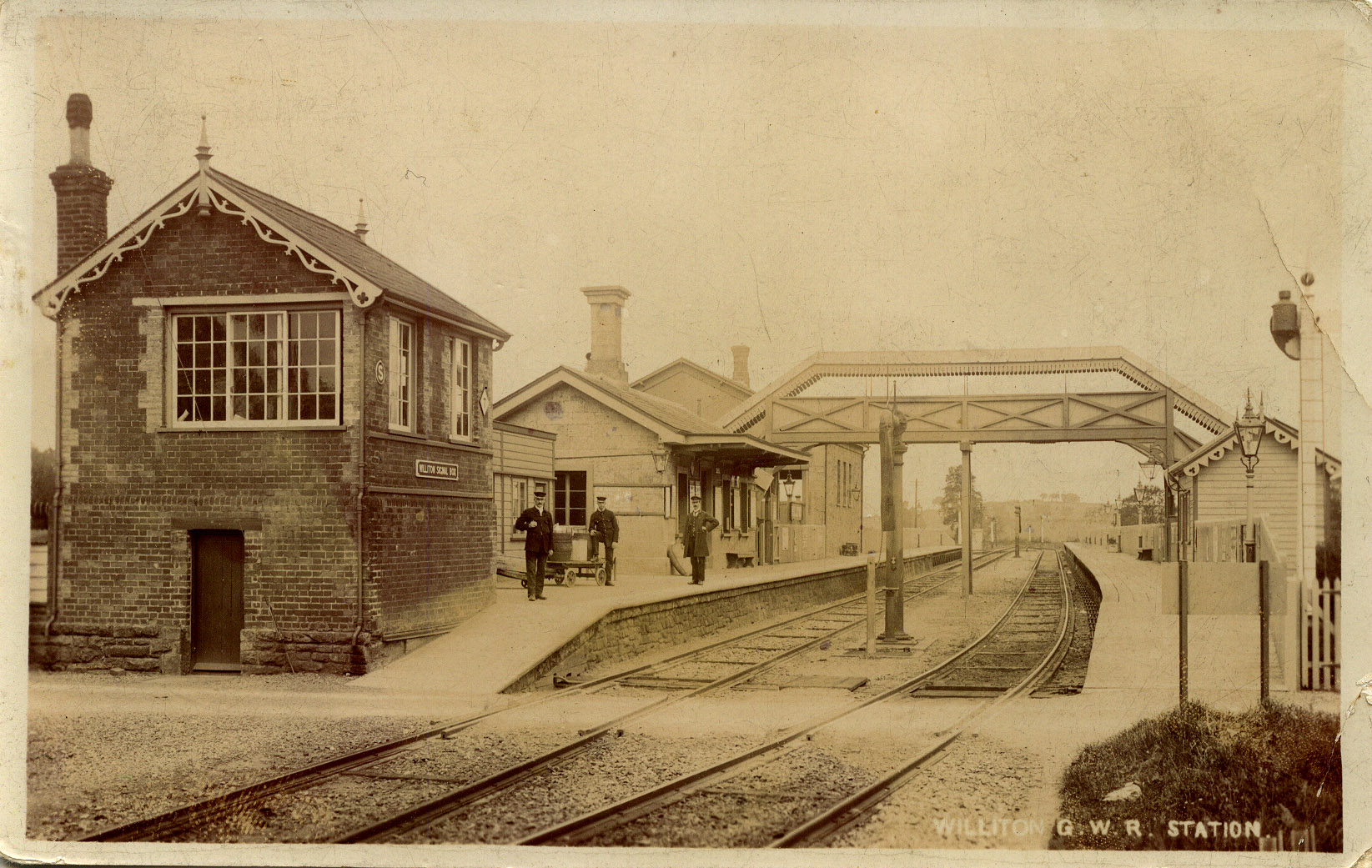 c1900 - Williton Station. ©The John Alsop Collection