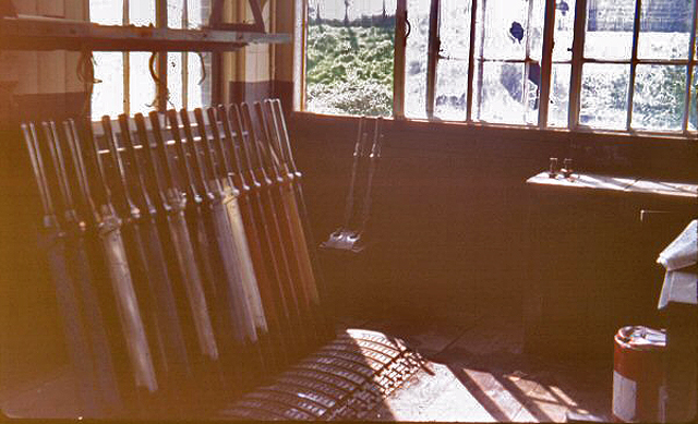 1974 - Williton Signal Box. This work is licenced under a Creative Commons Licence. © Chris Osment
