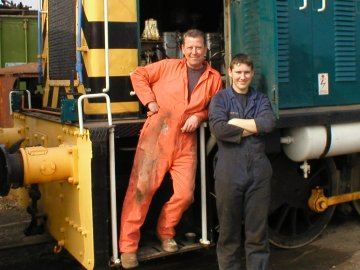 2003 - Mike and Paul Randall at Williton. This work is licenced under a Creative Commons Licence. © Rodney Greenway