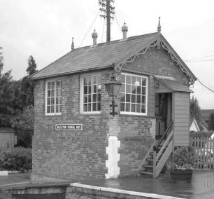Williton Signal Box on 8 October 2005.  ©(cc) Andy Spencer.