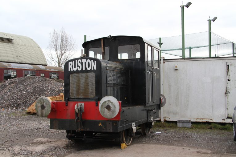 "2016 - 200793 Ruston and Hornsby Diesel ""Gower Princess"" in Sherrings Yard. on 6 March. This work is licenced under a Creative Commons Licence. © Martin Hope"