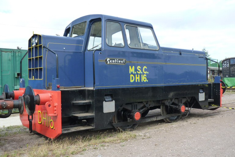 2013 - MSC Sentinel No. DH16 at Williton on 31 August. This work is licenced under a Creative Commons Licence. © Ken Lamy.